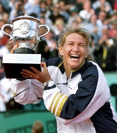 Steffi Graf - the best female player of all times!