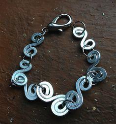 #Goddess #Spiral #Silver #Bracelet by Eldwenne on Etsy, $25.00 #etsy #handmade #jewlery #pagan #wiccan #spn