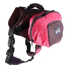 Pettom Waterproof fold able Dog Backpack Day Pack Adjustable Saddle bag Pocket Tripper Hound Bag for Pet Travel Hiking Camping Walking ** To view further for this item, visit the image link.