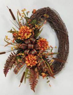 Oval Fall Wreath
