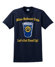 Blue Bobcat Cup Shirt! Go #Montana State #Bobcats!
