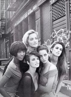 Peter Lindbergh part 2 - Vogue UK, 1990