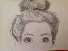 Ideas for hair drawing illustration messy buns Amazing Drawings, Cute Drawings, Drawing Sketches, Amazing Art, Sketching, Drawing Ideas, Lady Drawing, Drawing Girls, Pencil Drawing Tutorials