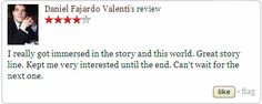 """Check out the review of """"Disruption"""" by Daniel Fajardo Valenti at Goodreads. If you want to know more about this book visit http://wjdaviesauthor.com/books/  #goodreads #bookreviews #amazonbooks"""