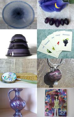 Pretty in Plum by Dawn on Etsy--Pinned with TreasuryPin.com