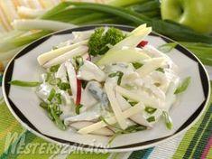 Almás-sajtos újhagymasaláta recept Celery, Potato Salad, Ale, Cabbage, Potatoes, Vegetables, Ethnic Recipes, Food, Vegetable Recipes