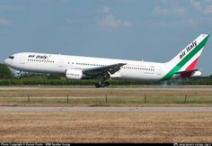 I-AIGG Air Italy Boeing 767-304(ER) taken 23-06-2013 at Verona - Valerio Catullo Villafranca (VRN / LIPX) airport, Italy by Varani Ennio - VRN Spotter Group