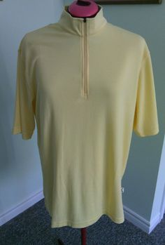 IL Migliore Men's Butter Polo Shirt Size L/G Performance Short Sleeve Sports Fit | eBay