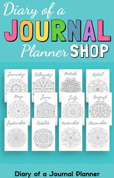 Check out the Diary of a Journal Planner shop for the best instant-download, planner printables! #Planner #plannershop #printables #shopprintables #planneraddict Bullet Journal Inspiration, Journal Ideas, Happy Doodles, Bullet Journal Printables, Printable Planner, Personal Planners, Check, Journaling, Shop