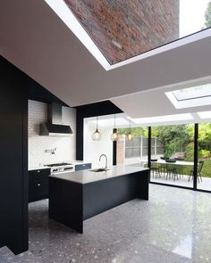 Love this terrace renovation in London by design studio Bureau de Change…