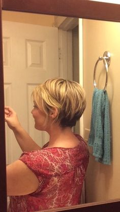 I've got the perfect long pixie do that finally matches ME!!! We're both short n' sassy now!!! (Plus, I had short hair at 264lbs prior to having WLS…All life struggle! Go big pixies! We all look amazing and have so much more to offer than some folks...