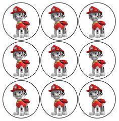 paw patrol printables for kids - TimyKids Paw Patrol Cake, Paw Patrol Party, Paw Patrol Birthday, Paw Patrol Marshall, 3rd Birthday Parties, Boy Birthday, Cupcake Birthday, Personajes Paw Patrol, Imprimibles Paw Patrol