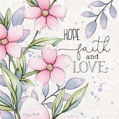 Watercolor Cards, Watercolor Flowers, Birthday Clipart, Inspirational Bible Quotes, Bible Verse Wallpaper, Faith In Love, Collage, Bible Art, Style Vintage