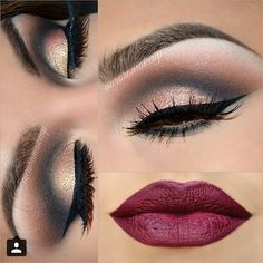 Another beautiful look by @auroramakeup. For a feature tag #MISSMELISS #MISSMELISS #MISSMELISS