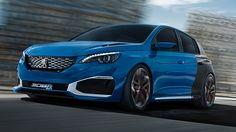 Peugeot 308 R Hybrid, 500cv de potencia, de 0 a 100 en sólo 4 segundos