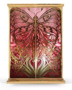 "Romantic ""Mademoiselle"" armoire by Koket"