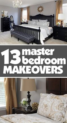 13 MASTER BEDROOM MAKEOVERS with awesome DIY ideas!