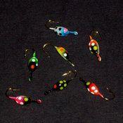 Beetle Jigs Ice Fishing Jigs, Hard Water, Trout, Beetle, June Bug, Brown Trout, Beetles