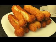 HUESILLOS EXTREMEÑOS , MUY TIERNOS!!! - YouTube Empanadas, French Toast, Food And Drink, Breakfast, Desserts, Cakes, Videos, Youtube, Puff Pastries