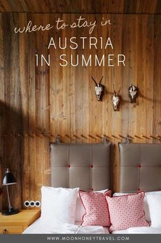 Find out where to stay in Austria in summer: Lech am Arlberg, Lechtal, Mayrhofen, Schladming, Schruns, Admont. This guide to the best towns and hotels in Austria will ensure that your summer holiday is filled with gorgeous scenery, delicious food, and lots of summer activities.   #lechamarlberg #lechtal #mayrhofen #schladming #schruns #montafon #admont #austriainsummer #summerinaustria #austrianalps #austrianhotels #austriahotels #bestplacesinaustria #austriatravel #visitaustria #europetravel Visit Austria, Austria Travel, Alpine Village, European Destination, Europe Travel Tips, Ultimate Travel, Summer Activities, Alps, Delicious Food