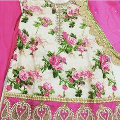 Floral Salwar Suit (Poonams Kaurture)
