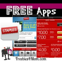 Staples has a FREE App that will help you save money http://freebies4mom.com/2013/03/13/staples/