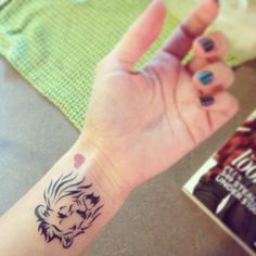 Leo/Lion Tattoo