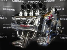 ◆ Visit MACHINE Shop Café ◆ (Nissan VK56DE for V8 Supercars)