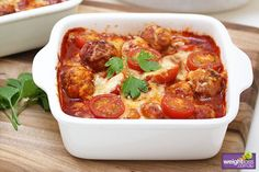 Gnocchi Meatball Bake with Capsicum Sauce Recipe