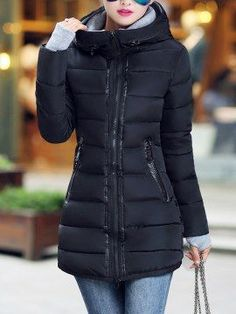 57 Winter Jackets For Your Perfect Look This Winter - Fashion New Trends Winter Coats Women, Coats For Women, Jackets For Women, Winter Jackets, Winter Fashion Outfits, Stylish Outfits, Autumn Fashion, Style Casual, Mode Hijab