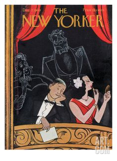 The New Yorker Cover - December 7, 1940 Regular Giclee Print by Rea Irvin at Art.com
