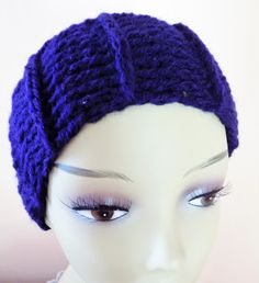 Handmade by Camelia: Headband warm for cold mornings