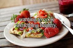 Wanting To Cook Something Healthy -Just Girly Things <3