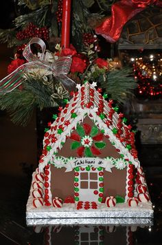 Gingerbread House Cake by April Goff