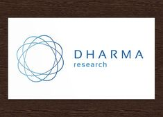 Dharma Research Logo - PSD by Studio 365 Designs on @creativemarket