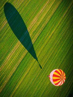 """Shadow Balloon,"" Gatineau Park, Ontario, Canada"