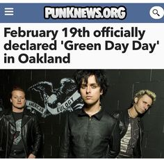 Happy Green Day Day frens
