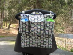 Ultimate Stroller Organizer  Available in Many Fabrics by myfrecklesshop, $52.00