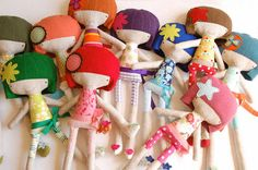 plush dolls from vidas crafty