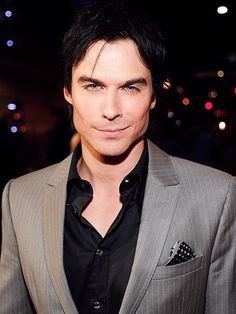 Ian Somerhalder | ''Ian Somerhalder would make an amazing Christian Grey — he's beyond hot, is completely mesmerizing and has the perfect blend of totally in control and…