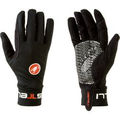 The Garmin-Cervelo professional cycling team's favorite glove for cool conditions, Castelli Lightness Gloves are designed to be soft, stretchy, and warm.