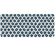 Bungalow Flooring Ikat Blue Runner-Blue 20491022252 Floor Mat NEW  | eBay