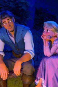 Eugene and Rapunzel.
