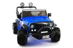 EXPLORER 12V KIDS RIDE-ON CAR TRUCK WITH R/C PARENTAL REMOTE | BLUE