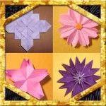 折り紙で季節の花折り方まとめ!簡単立体平面タイプの色んな作り方