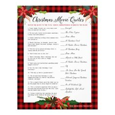 Christmas Movie Quotes, Christmas Games For Family, Christmas In July, Christmas Ideas, Christmas Activities For Families, Christmas Flyer, Holiday Ideas, Christmas Stuff, Holiday Crafts