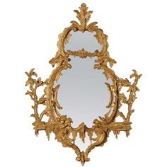 A George III Giltwood Mirror (440001wg)   From a unique collection of antique and modern more mirrors at http://www.1stdibs.com/furniture/mirrors/more-mirrors/