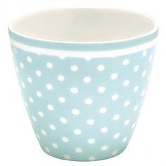 Latte Cup Spot Blue