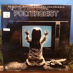 Poltergeist Soundtrack OST Sealed Vinyl Record LP 1982 MGM Horror Jerry Goldsmith Stephen Spielberg by vintagebaron on Etsy
