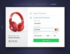 Image result for credit card checkout  daily ui